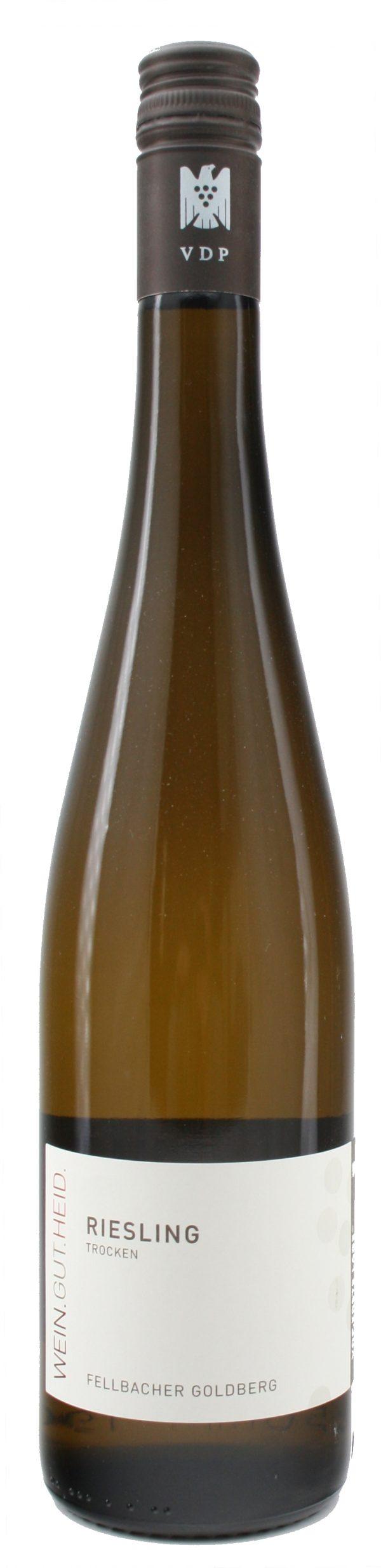 Fellbacher Goldberg Riesling Qualitätswein trocken 2017