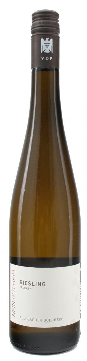 Fellbacher Goldberg Riesling Qualitätswein trocken 2018