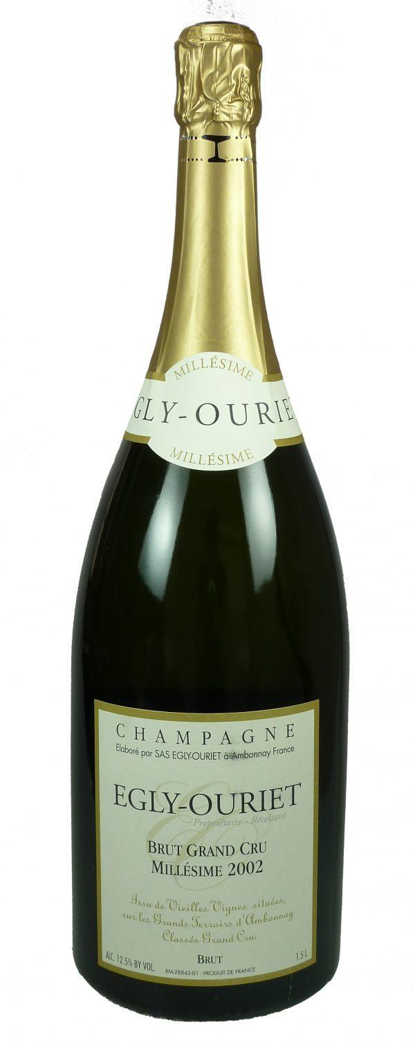 Champagne Grand Cru Millésimé 2002