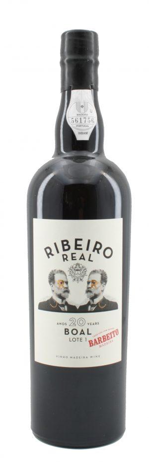 Ribeiro Real Boal Medium Sweet Madeira 20 Jahre alt