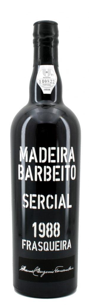 Sercial Dry Madeira 1988