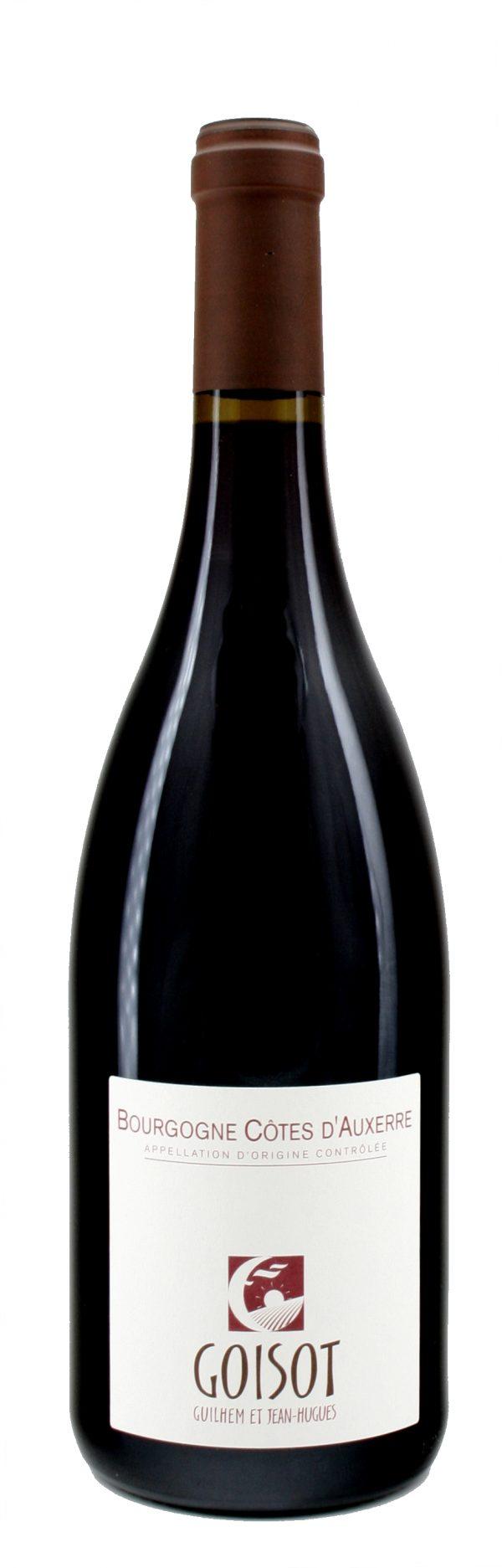 Bourgogne Côtes d'Auxerre Pinot Noir 2017