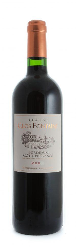 Francs Côtes de Bordeaux 2016