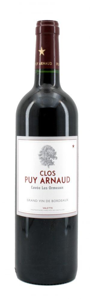 Cuvée Les Ormeaux Castillon Côtes de Bordeaux 2014