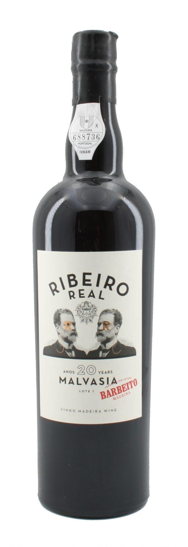 Ribeiro Real Malvasia Sweet Madeira 20 Jahre alt