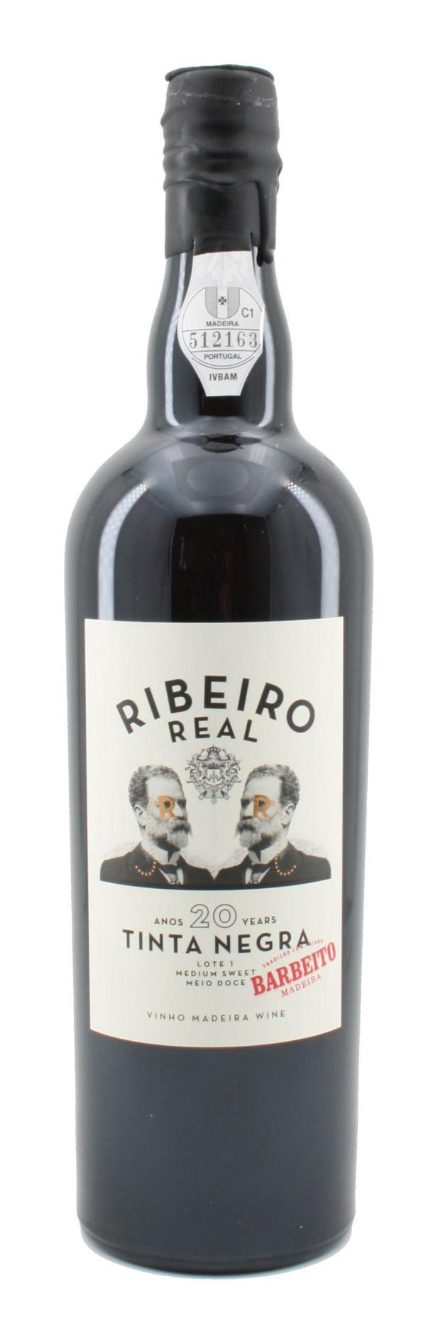 Ribeiro Real Tinta Negra Medium Sweet Madeira 20 Jahre alt