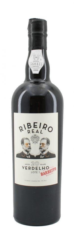 Ribeiro Real Verdelho Medium Dry Madeira 20 Jahre alt