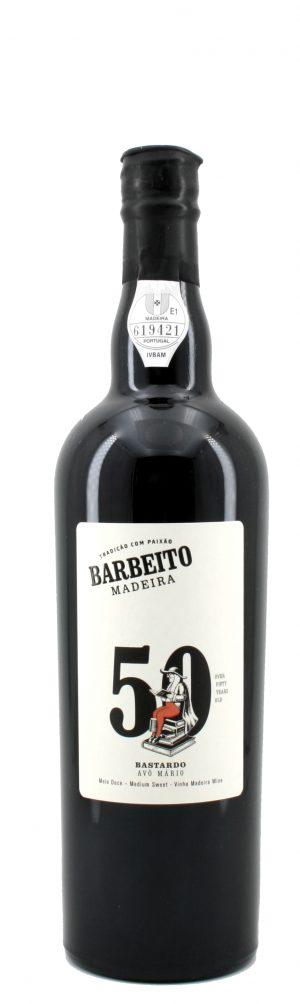 Vô Mário Bastardo Medium Sweet Madeira 50 Jahre alt