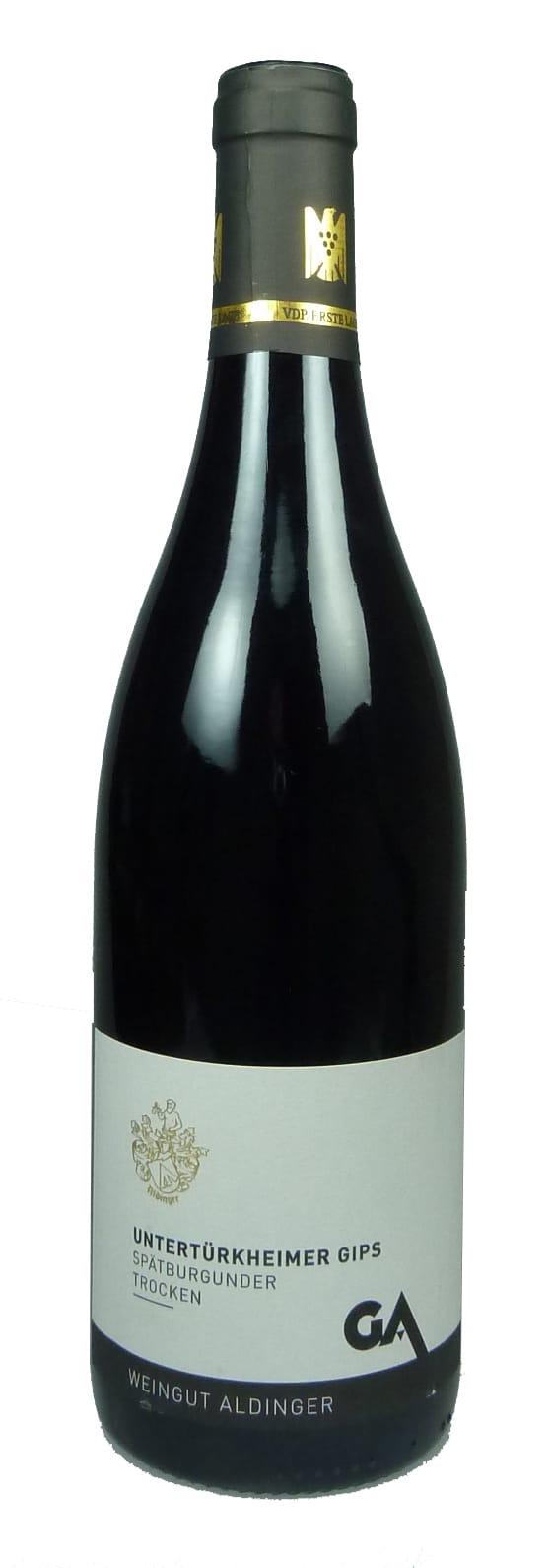 Untertürkheimer Gips Spätburgunder Erste Lage Qualitätswein trocken 2016
