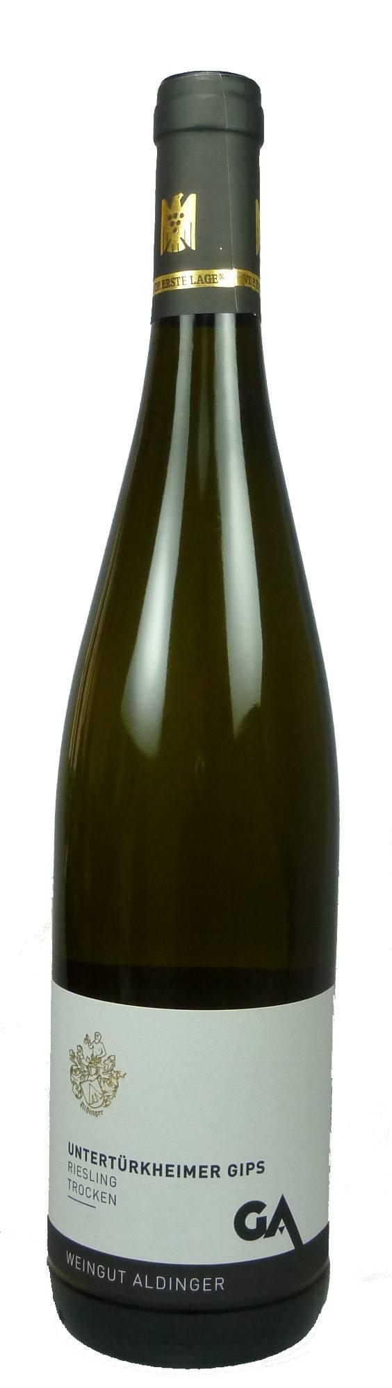 Untertürkheimer Gips Riesling Erste Lage Qualitätswein trocken 2016