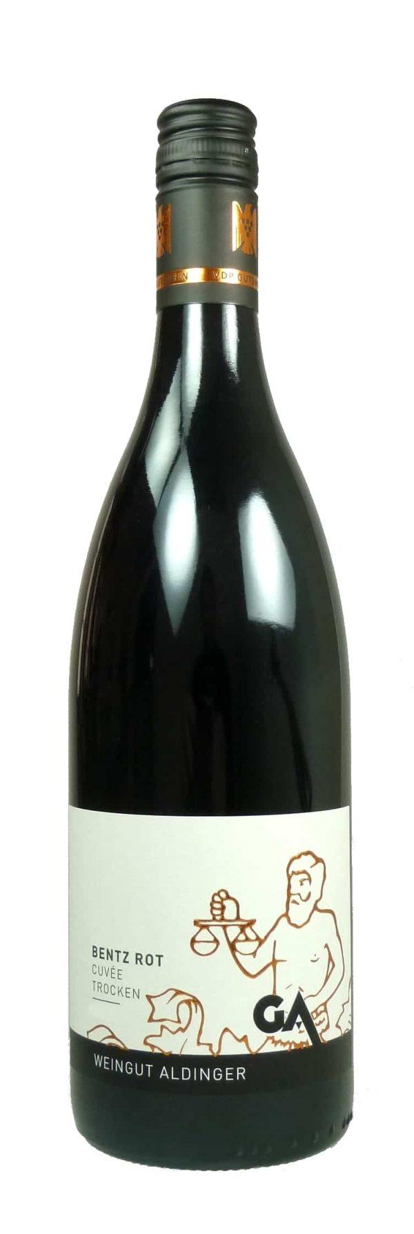 """""""Bentz"""" Rotwein Cuvée Qualitätswein trocken 2017"""