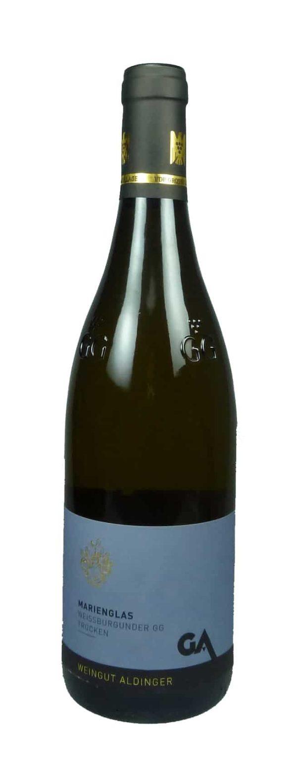 Marienglas Gips Weißburgunder Großes Gewächs Qualitätswein trocken 2016