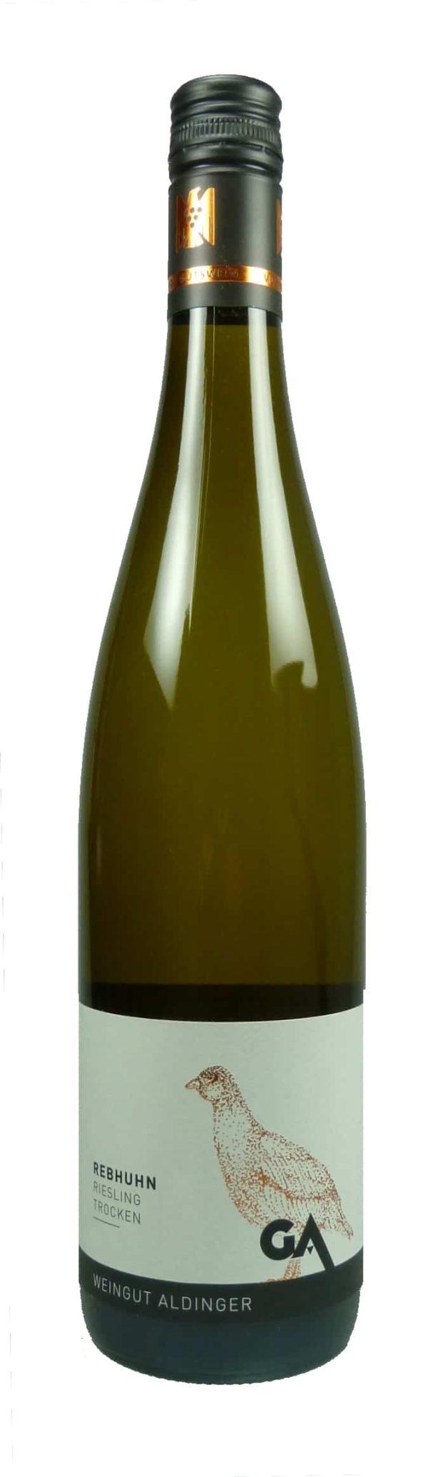 Rebhuhn Riesling Qualitätswein trocken 2017