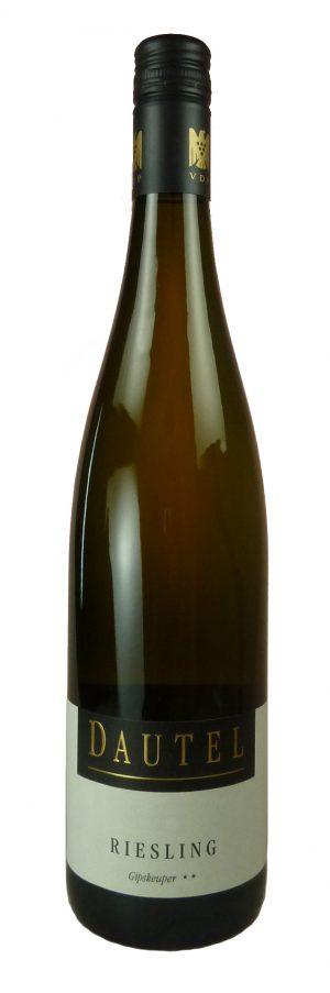 Gipskeuper Bönnigheim Riesling Qualitätswein trocken 2018