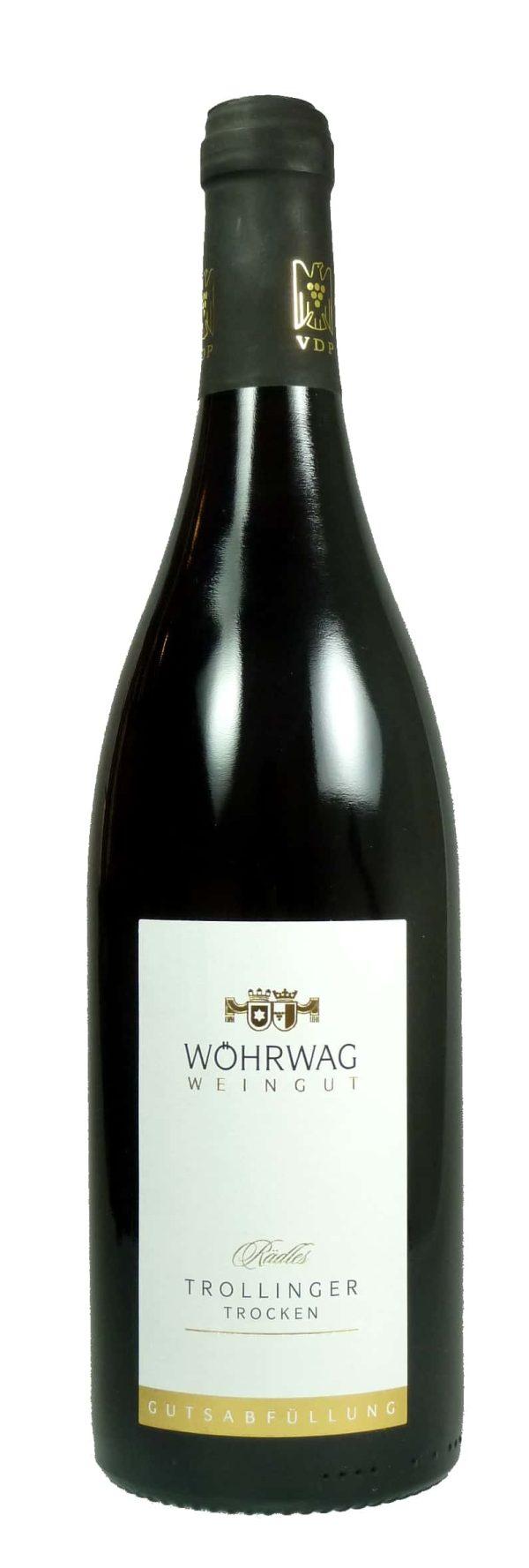 Rädles Trollinger Qualitätswein trocken 2016