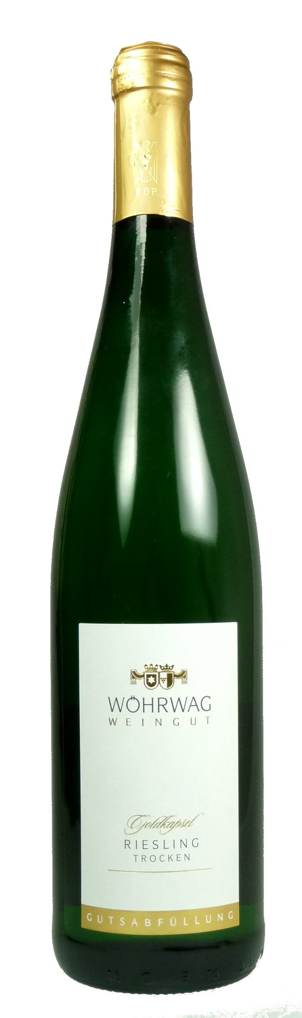 Untertürkheimer Herzogenberg Riesling Goldkapsel Qualitätswein trocken 2018