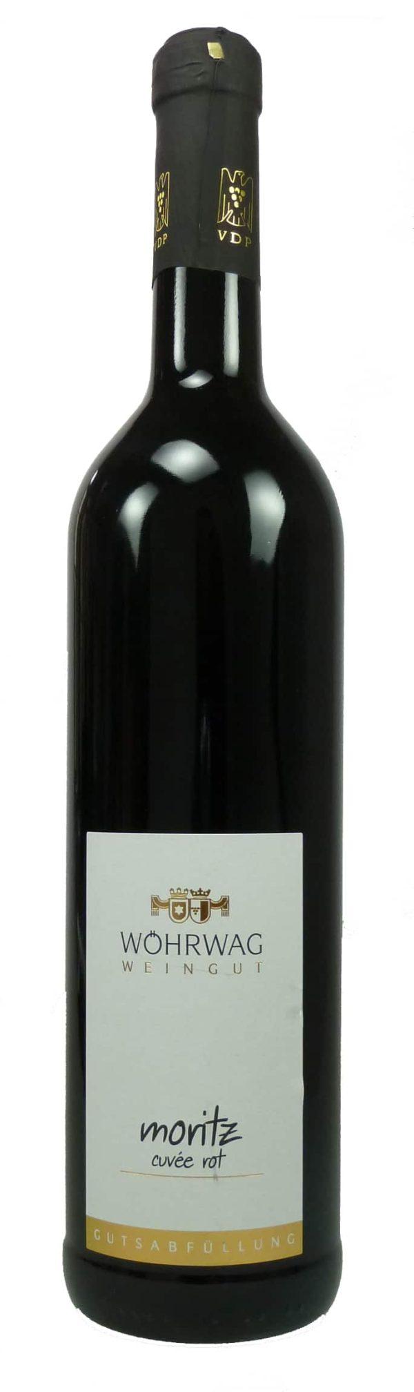 Moritz Rotweincuvée Qualitätswein trocken 2017