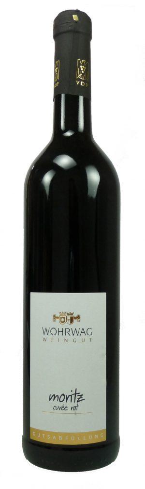 Moritz Rotweincuvée Qualitätswein trocken 2018