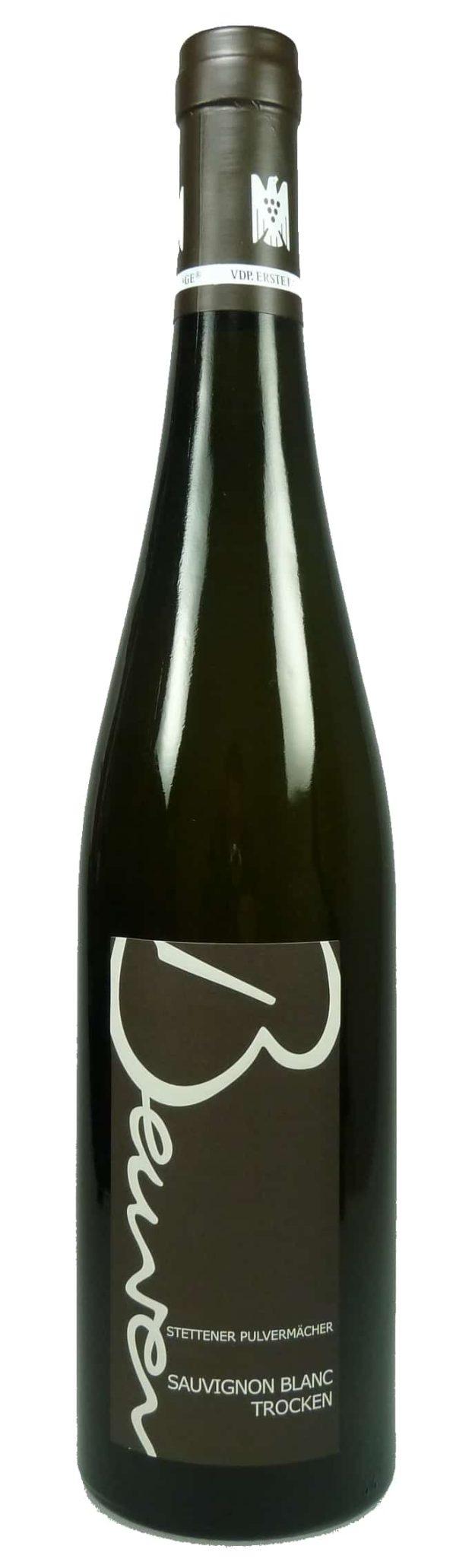 Stettener Pulvermächer Sauvignon blanc Qualitätswein trocken 2016