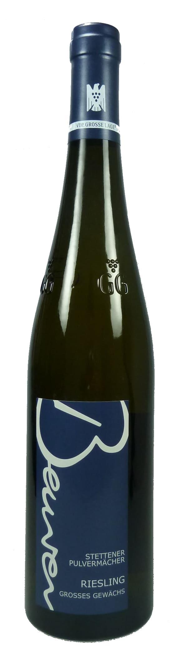 Stettener Pulvermächer Rittersberg Riesling Großes Gewächs Qualitätswein trocken 2015