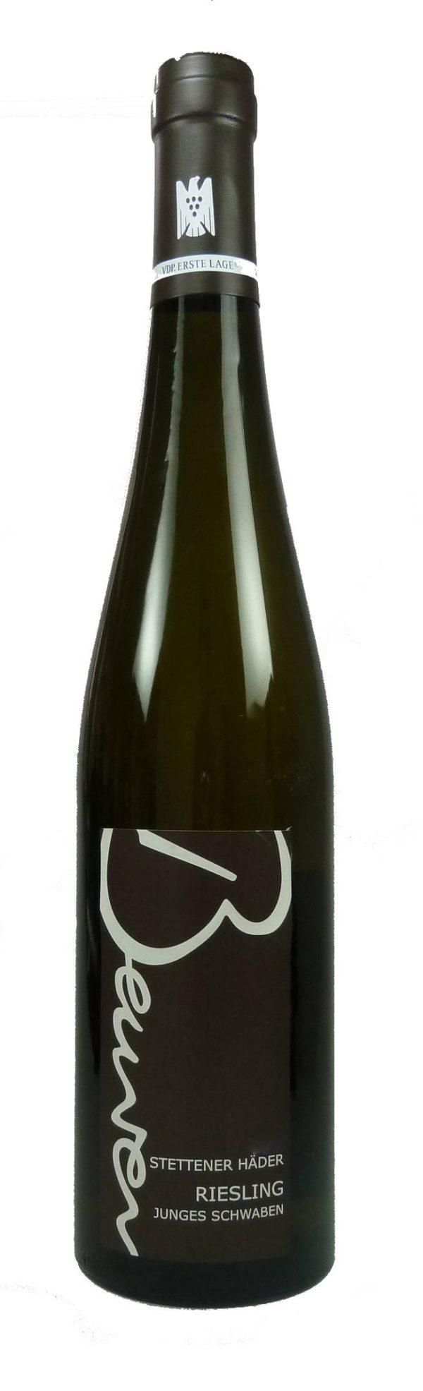 Junges Schwaben Stettener Häder Riesling Qualitätswein bio 2015