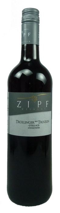 Trollinger ** Steillage Qualitätswein trocken 2015