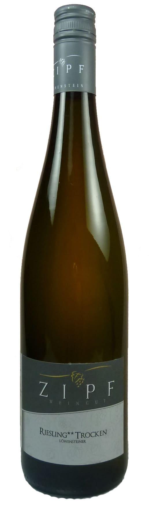 Löwensteiner Riesling ** Qualitätswein trocken 2017
