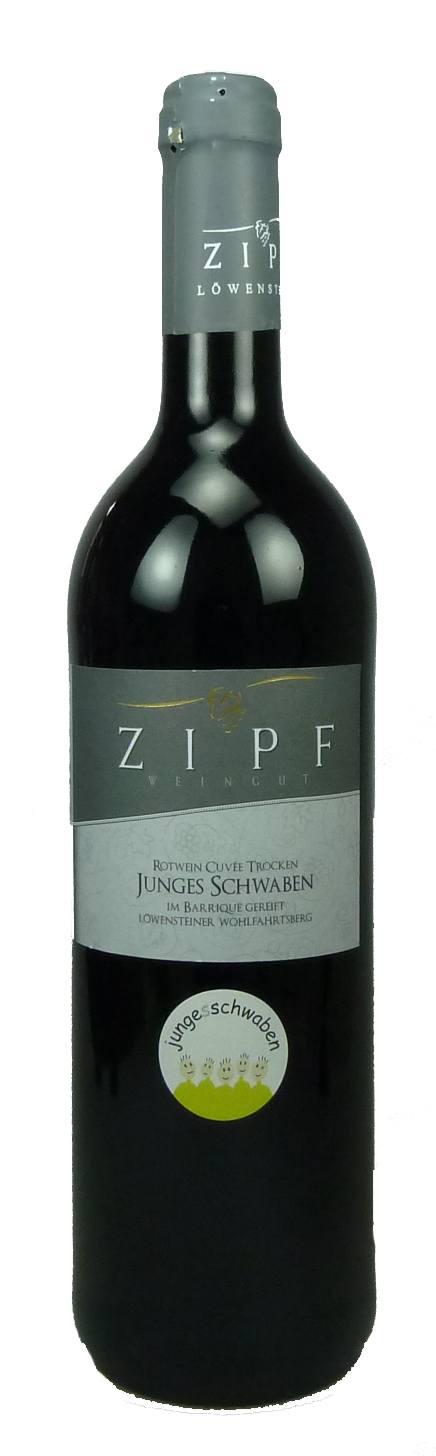 Junges Schwaben Rotweincuvée Qualitätswein trocken  2011