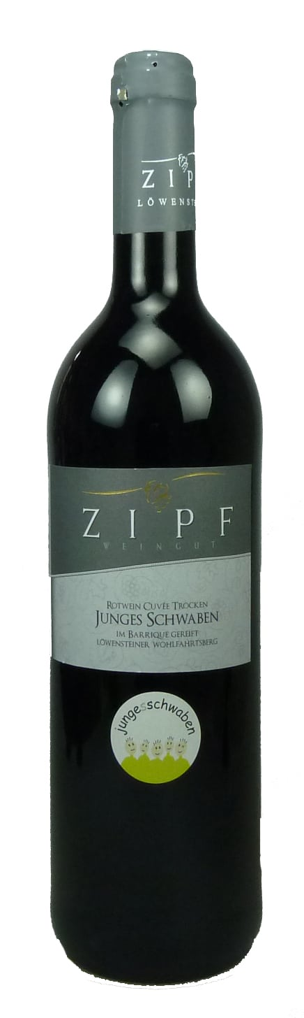 Junges Schwaben Rotweincuvée Qualitätswein trocken  2012
