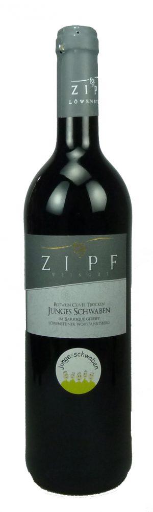 Junges Schwaben Rotweincuvée Qualitätswein trocken 2015