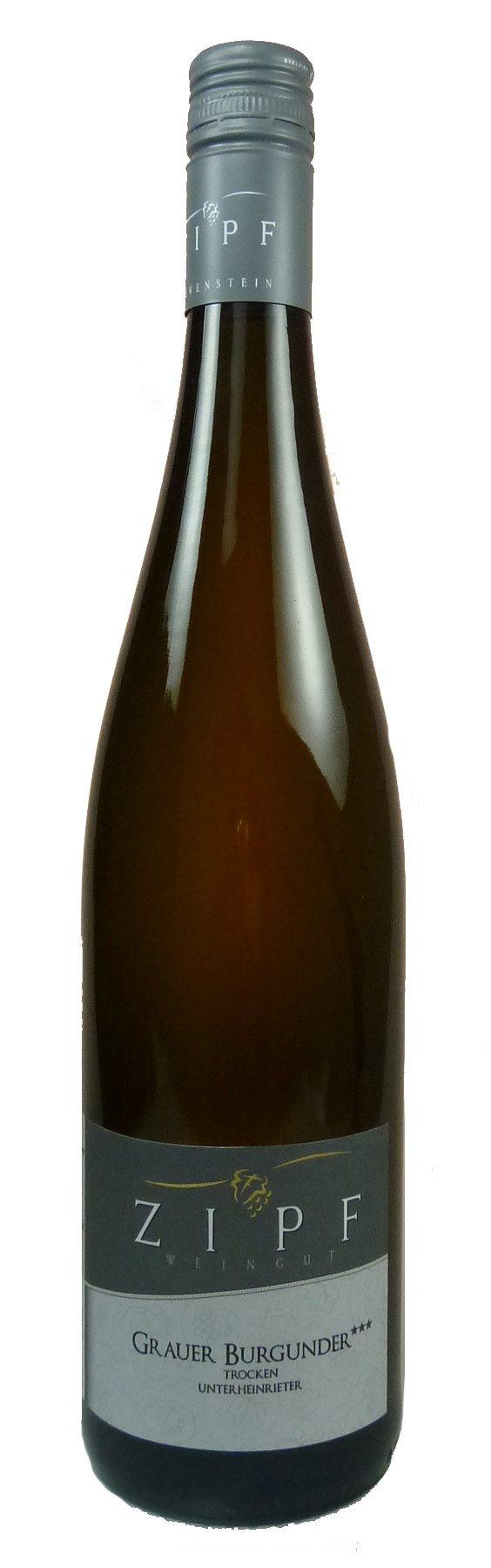 Grauburgunder *** Qualitätswein trocken 2016