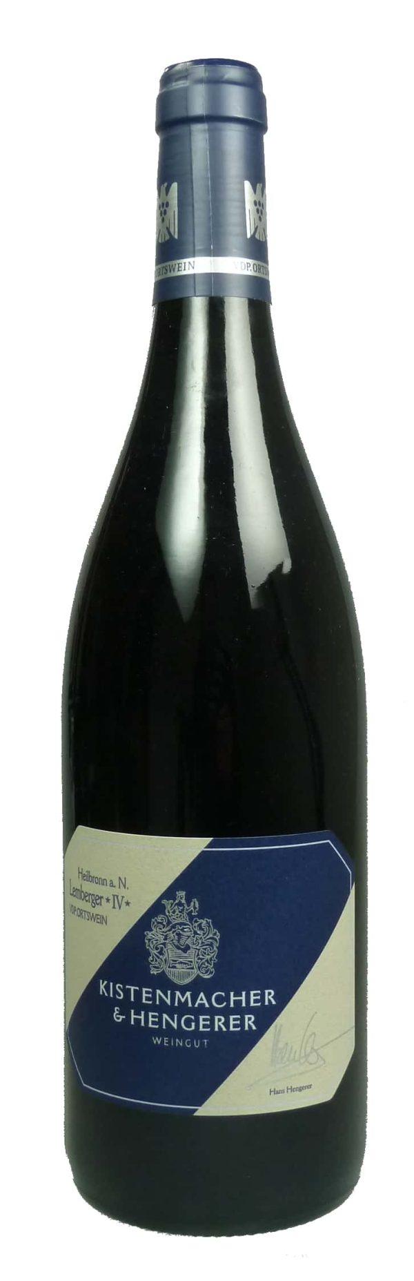 Lemberger IV von alten Reben Qualitätswein trocken  2015