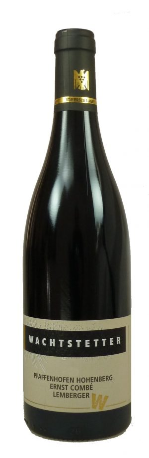 Pfaffenhofen Hohenberg Lemberger Ernst Combé Qualitätswein trocken  2016