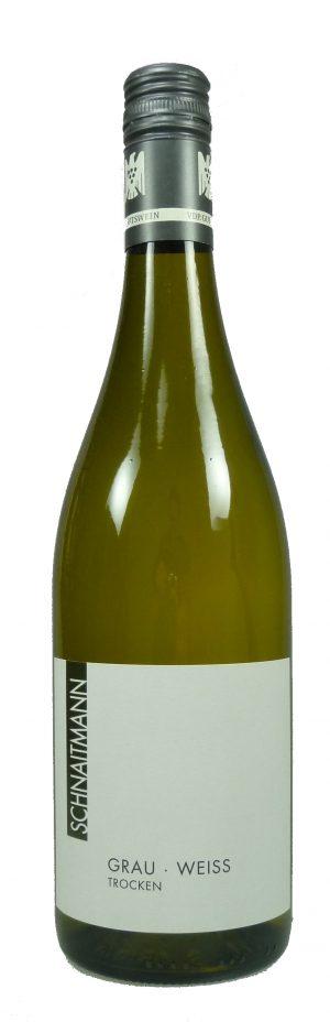 Grau-Weiß Qualitätswein trocken  2018