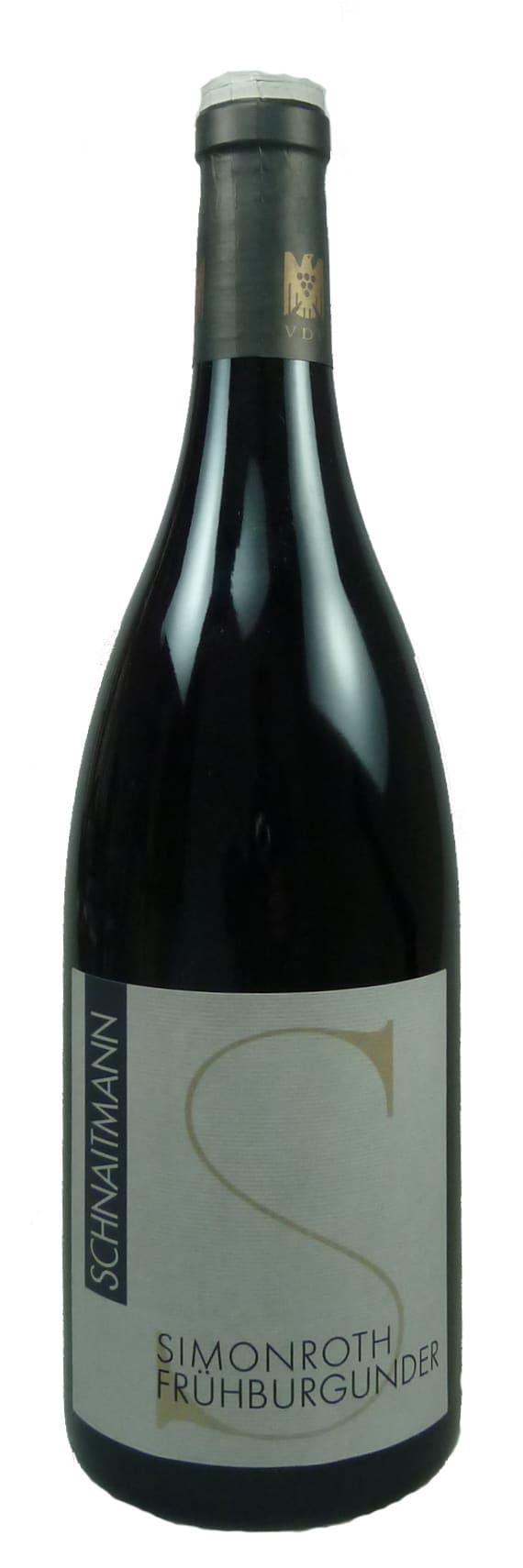 Simonroth Frühburgunder Qualitätswein trocken 2016