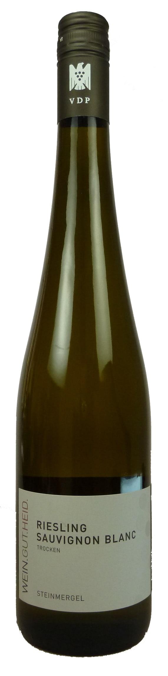 Steinmergel Riesling Sauvignon blanc Qualitätswein trocken 2017