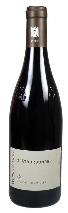 Fellbacher Lämmler Spätburgunder Großes Gewächs Qualitätswein trocken 2014