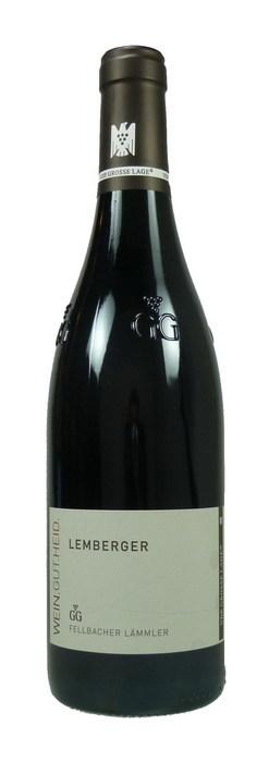 Fellbacher Lämmler Lemberger Großes Gewächs Qualitätswein trocken 2013