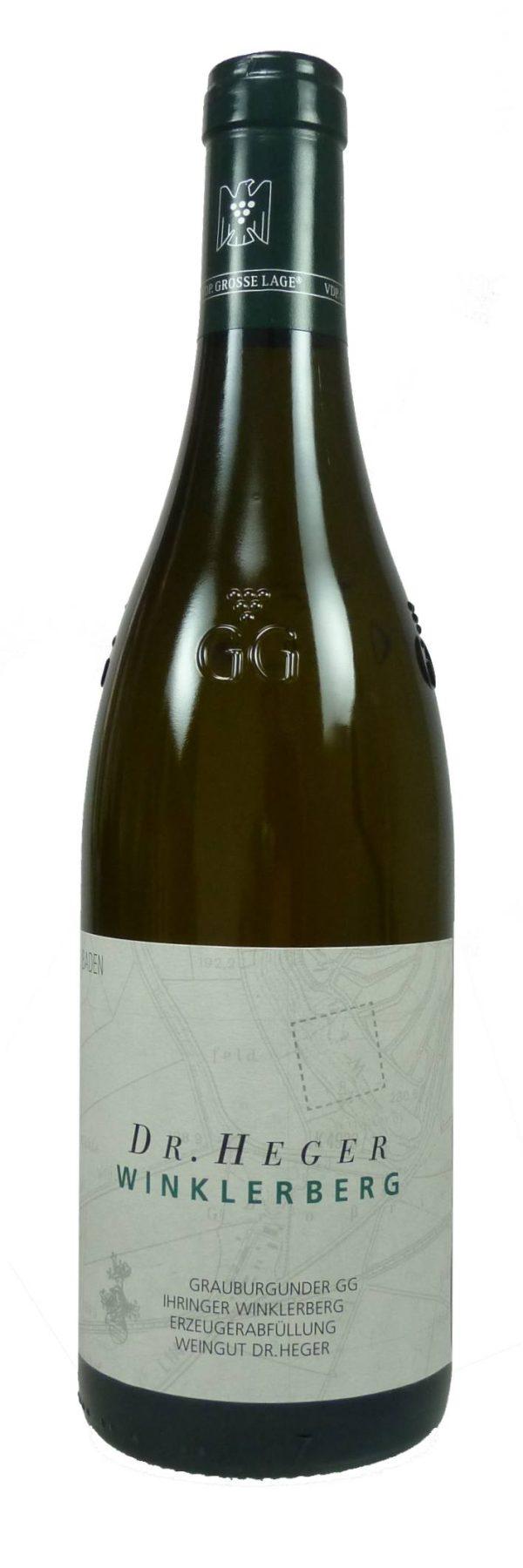 Vorderer Winklerberg Grauburgunder Großes Gewächs Qualitätswein trocken 2016