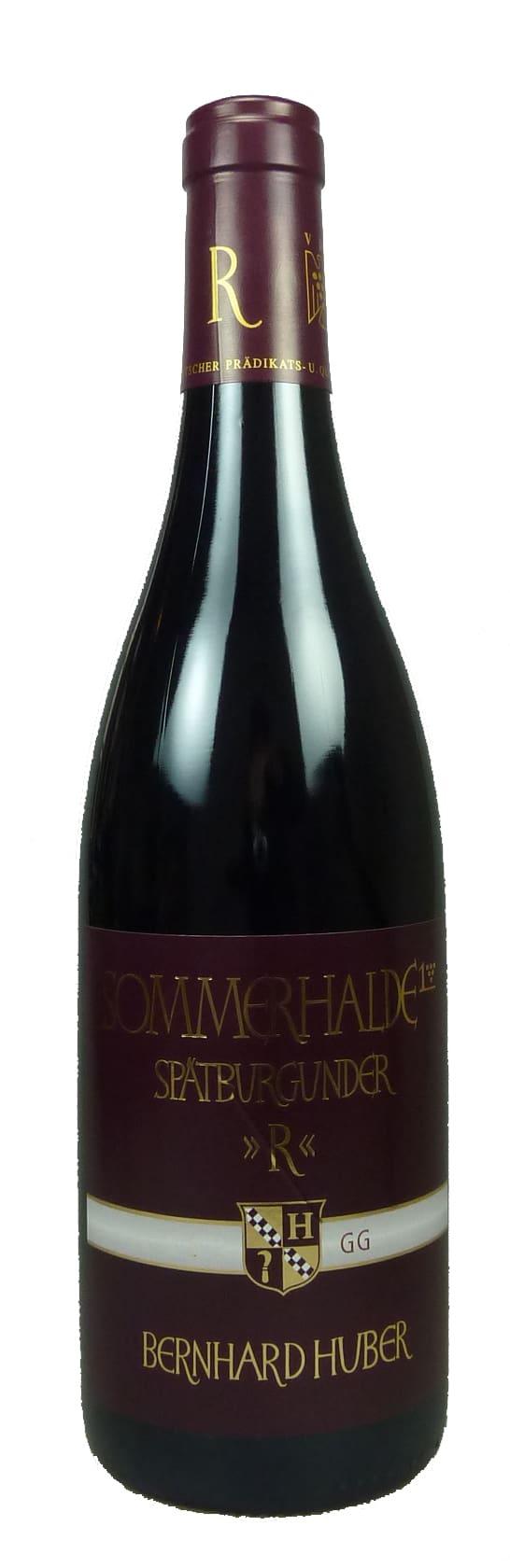 Sommerhalde Spätburgunder Großes Gewächs Qualitätswein trocken 2014