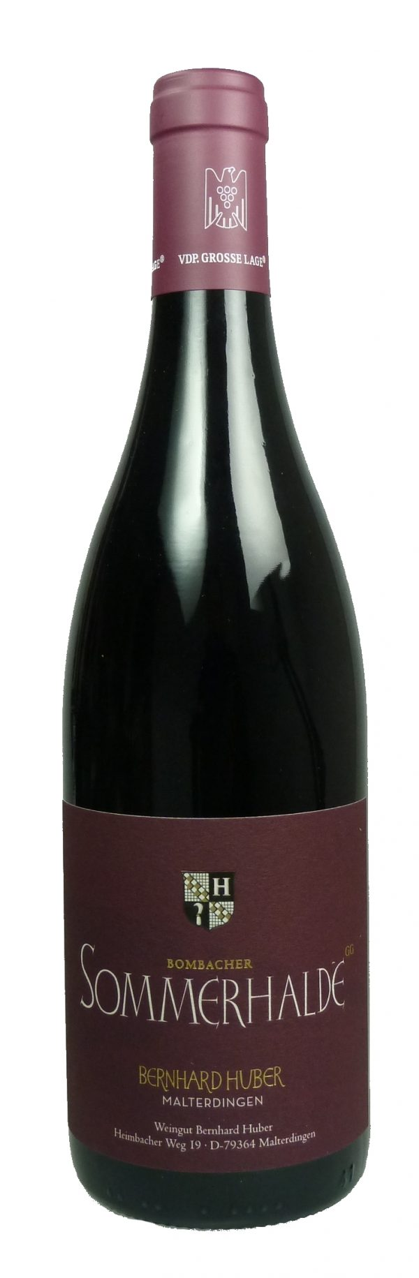 Sommerhalde Spätburgunder Großes Gewächs Qualitätswein trocken  2015