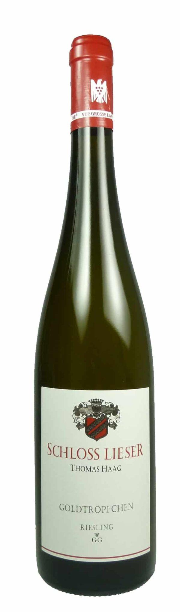Goldtröpfchen Riesling Großes Gewächs Qualitätswein trocken 2017