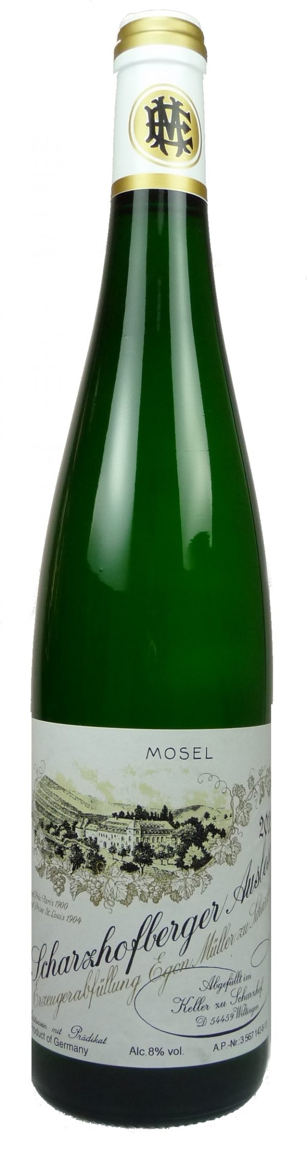 Scharzhofberger Riesling Auslese  2018