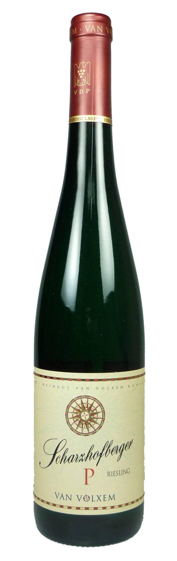 Scharzhofberger Pergentsknopp Riesling Große Lage Qualitätswein 2016