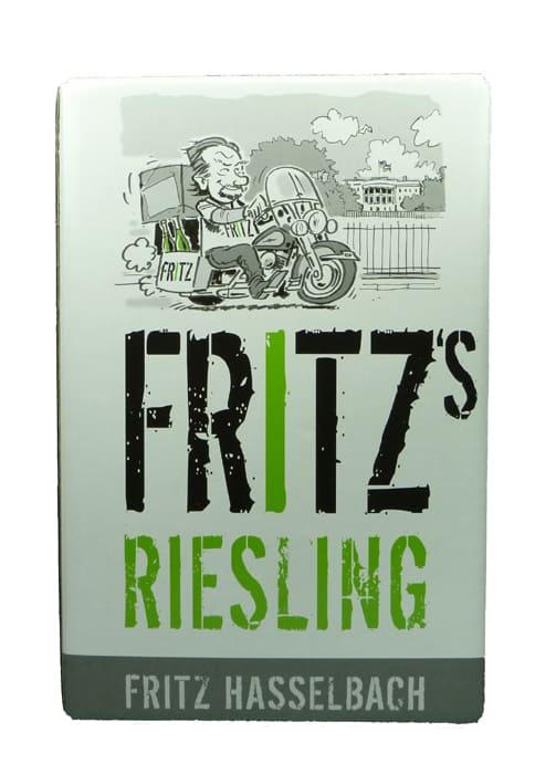 Fritz Riesling trocken Bag in Box 2014