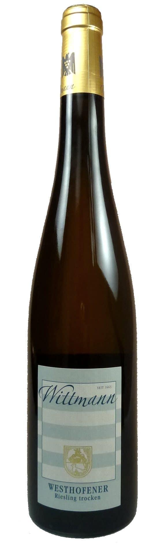 Westhofener Riesling Qualitätswein trocken bio 2016