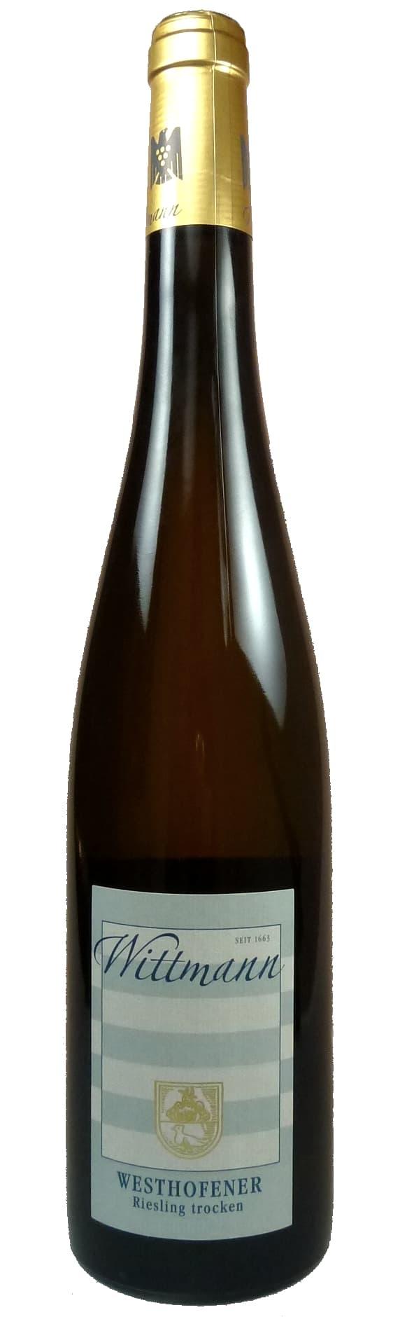 Westhofener Riesling Qualitätswein trocken 2017