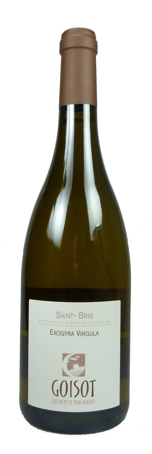 Exogyra Virgula Saint-Bris Sauvignon bio 2015