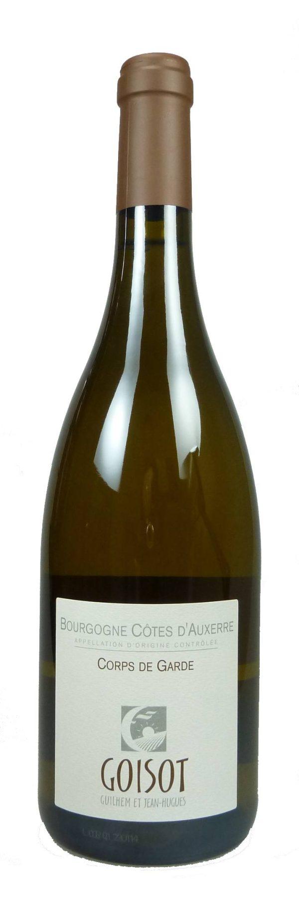 Cuvée Corps de Garde Bourgogne Côtes d´Auxerre Chardonnay bio 2014