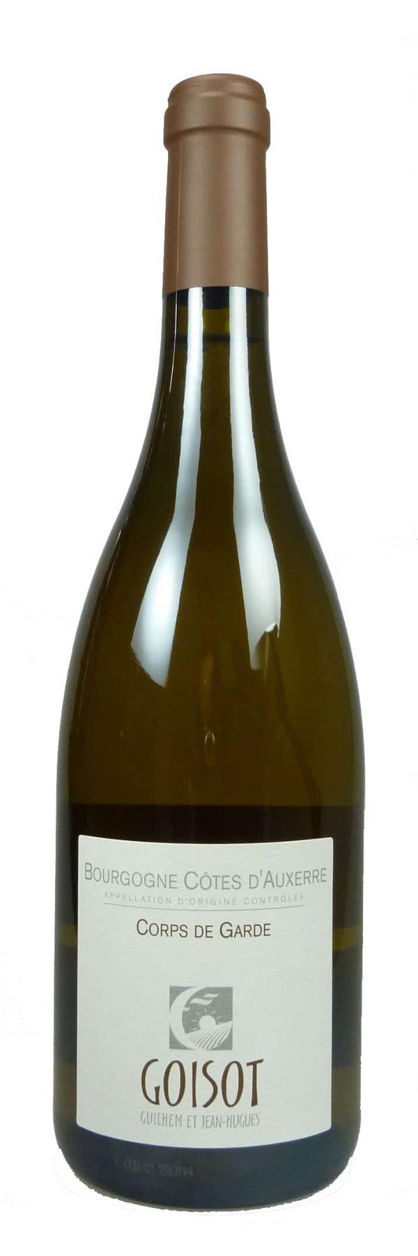 Cuvée Corps de Garde Bourgogne Côtes d´Auxerre Chardonnay 2017